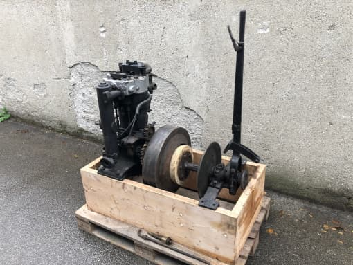 Maybach-Phoenix-Zweizylindermotor